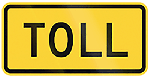 Toll Signs in Australia