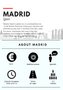 Driving Madrid Infographic