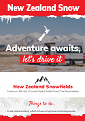 New Zealand Snow Season Infographic