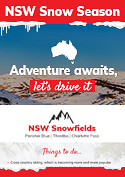 NSW Snow Season  Infographic