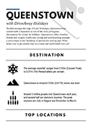 Skiing Queenstown Infographic