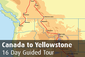 Canada to Yellowstone