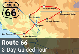 Route 66 8 Day Tour