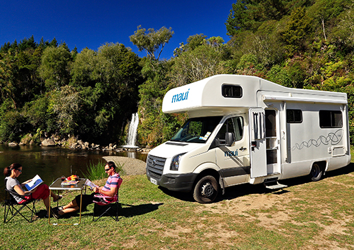 Motorhome Hire New Zealand Maui 4 Berth Driveaway Holidays