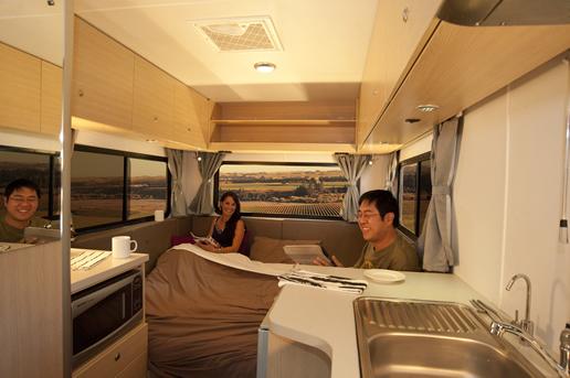 Brilliant Motorhome Hire New Zealand  HiTop Campervan