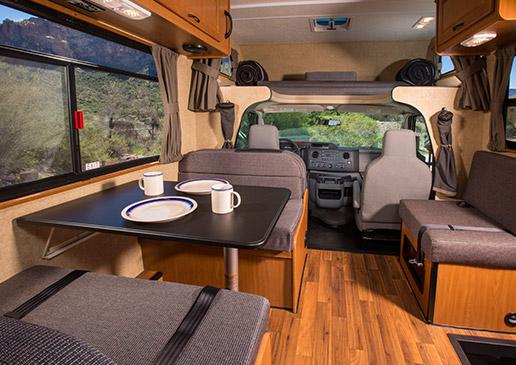 3 Berth Usa Motorhome Rental Through Driveaway Holidays