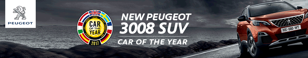 Peugeot 3008: Car Of The Year 2017