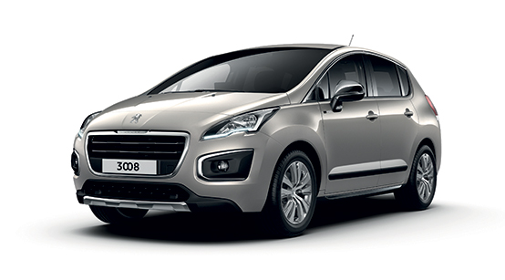 Lease in Europe with the Peugeot 3008