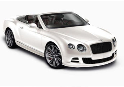 Luxury Car Hire Bentley Continental GTC