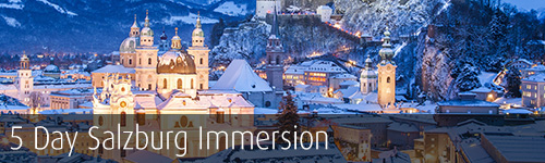 5-day Salzburg Immersion